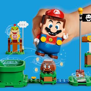 Die LEGO Group und Nintendo  - LEGO Mario :-) mehr Infos...