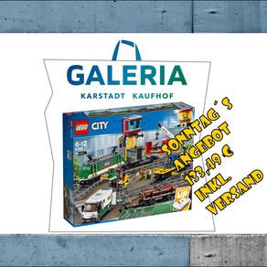 Galeria: LEGO City 60198 Güterzug heute für 133,49 Euro Frachtfrei
