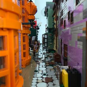 LEGO 75978 Harry Potter Winkelgasse - DERBOOR - DIERÜCKSEITE MOC