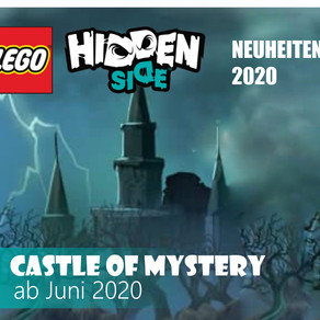LEGO Hidden Side 2020 Neuheiten  5 Sets kommen im Juni! Castle of Mystery :-)