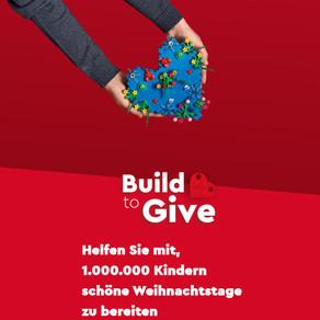 """Helfen Sie mit, 1.000.000 Kindern schöne Weihnachtstage zu bereiten """"Build to Give"""""""