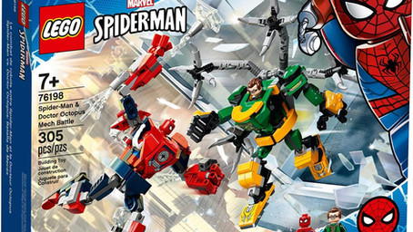 NEWS!!! LEGO 76198 - Mech-Duell zwischen Spider-Man & Doctor Octopus