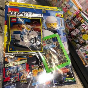 LEGO City Magazin Nr. 13 : City Polizist mit Motorrad  Ausgabe - Februar im Review