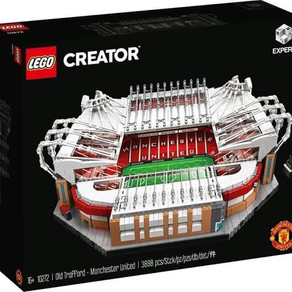 COMING SOON!!! LEGO CREATOR EXPERT 10272 - Old Trafford - Manchester United 3898 Teile für 269,99€