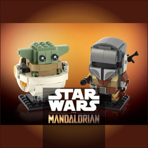 LEGO 75317 Star Wars Der Mandalorianer™ und das Kind - BrickHeadz jetzt vorbestellen