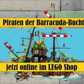 LEGO IDEAS 21322 Piraten der Barracuda-Bucht - jetzt online im LEGO Shop bestellbar !!!!