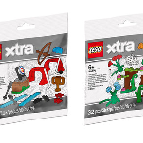 LEGO xtra 40375 und 40376: Sportzubehör und Pflanzenzubehör NEU