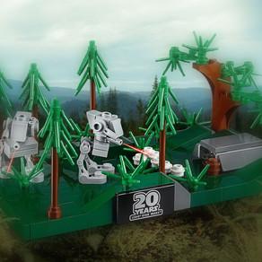 LEGO 40362 Battle Of Endor ab 55 Euro Einkauf LEGO Online Shop