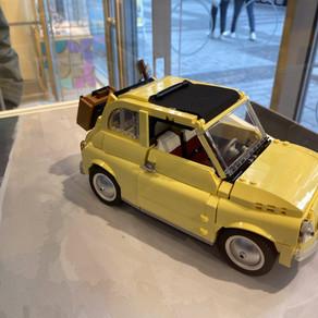 LEGO 10271 Fiat 500 in einem hellgelb - aus dem Kölner LEGO Store