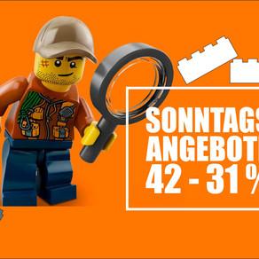 SONNTAG 09. Februar 2020 - LEGO  Angebote