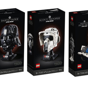 NEWS!! 75304 - Darth Vader  75305 - Scout Trooper                75306 - Imperial Probe Droid