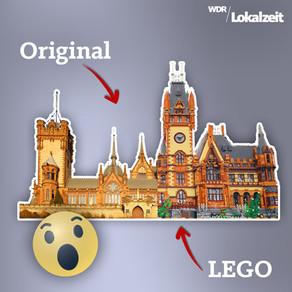 Krass, oder? 😲 Lokalzeit-User Frank Boor hat die Drachenburg aus Lego nachgebaut! 🐲Daten + Fakten!