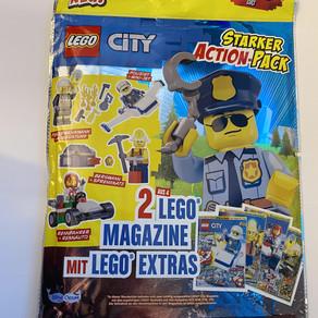 LEGO City Magazin Starker Action-Pack  2 Magazine für 4,50 Euro NEU