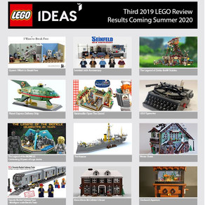 LEGO Ideas Review Ergebnisse - heute! -  LEGO Ideas Review Results - Coming Soon!