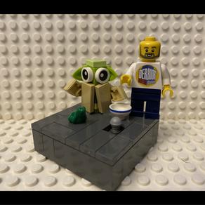 LEGO Baby Yoda MOC - 13 Teile Bauanleitung