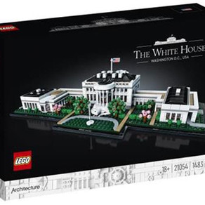 NEWS!!! LEGO ARCHITECTURE 21054 - The White House 1483 Teile  99.99€