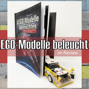 LEGO-Modelle beleuchten im Review - Ein tolles Buch vom dpunkt Verlag