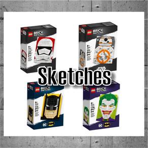 LEGO Brick Sketches jetzt im LEGO online Shop bestenn oder im LEGO Store kaufen