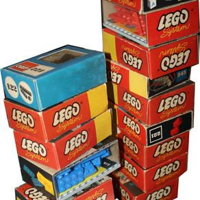 Die alte Schachtel, die es in sich hat ;-) LEGO von 1957 - 1965 heute Retro