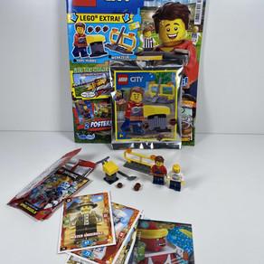 LEGO City Magazin Nr. 18 : Bauarbeiter mit Geräten und Absperrung! Ausgabe - Juli 2020 im Review