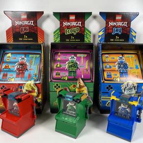 Ninjago Arcade Kapsel - Jay 74715 im Review