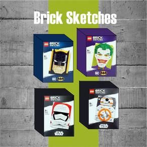 Brandneues Thema enthüllt: LEGO Brick Sketches! kommen am ersten Juni 2020