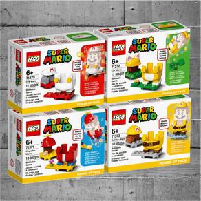 LEGO Super Mario 4 Neue Kostüme -  Power-Up Packs im LEGO Online-Shop