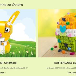 LEGO 30550 Creator Osterhase Polybag ab 30 Euro Gratis - Ab 08.04.2020