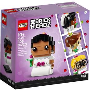 LEGO BrickHeadz 2020: Bilder Nr 97 und Hochzeits Figuren