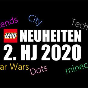 Die LEGO NEUHEITEN 2. Halbjahr 2020 - UPDATE! Star Wars, Nijago, Technic, Cty ...