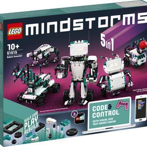 Mit dem neuen LEGO® MINDSTORMS® Robot Inventor können Entwickler alles bauen und zum Leben erwecken