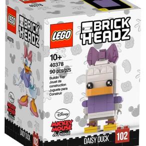 LEGO  BrickHeadz: Daisy Duck (40378) Nr 102  erste Bilder