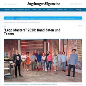 """Das schreibt die Augsburger Allgemeine """"Lego Masters"""" 2020: Kandidaten und Teams"""