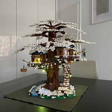 03 - LEGO Baumhaus Winter MOD