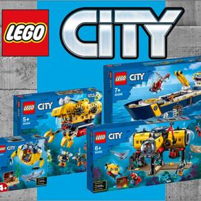 LEGO City NEUE Sets und Bilder - Schiff, Uboot, Unterwasserstation
