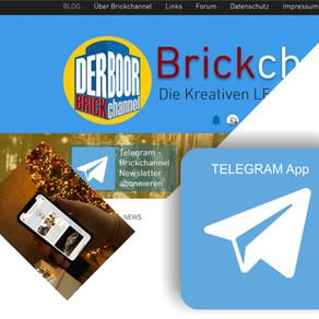 Telegram abonnieren! und die BRICKCHANNEL News sind sofort auf dem Handy!