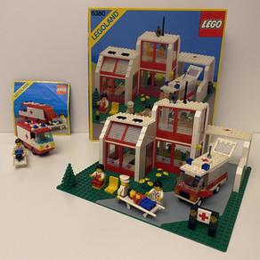 LEGO 6380 Krankenhaus von 1987 und 6688 im Classic Review