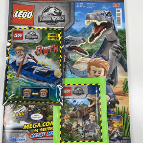 LEGO Jurassic World Magazin Nr. 8: Ausgabe - Juni 2020 im Review