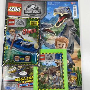 LEGO Jurassic World Magazin Nr. 8: Ausgabe - Juni 2020 im Review