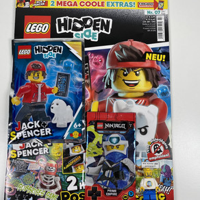 LEGO Hidden Side Magazin Nr. 7 : Ausgabe - Juli/August 2020 im Review