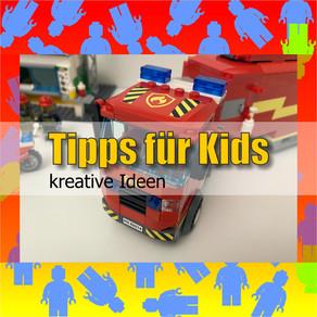 TIPPS FÜR KIDS - Feuerwehr Truck! - NEU bei Brickchannel