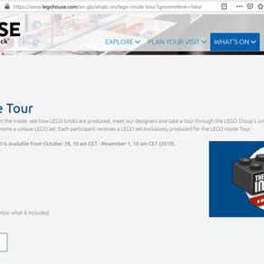 LEGO® Inside Tour 2020 - jetzt bewerben!