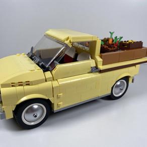 LEGO 10271 Creator Expert - Fiat 500 PickUp Truck im Review