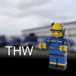 THW Helfer aus Lego - von Jonas
