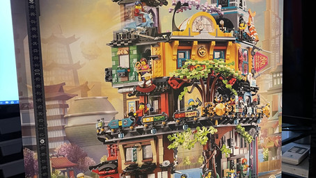 Was ist drin in der LEGO 71741 Ninjago City Gardens - Review