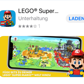 LEGO® Super Mario™ App zum Download