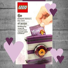 Muttertag: LEGO baubare Muttertag Karte als Gratis-Zugabe?