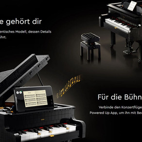 LEGO 21323 Ideas Grand Piano ab 1. August 2020 jetzt online