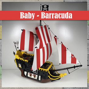 LEGO Baby Barracuda und XXL Barracuda - Easter special