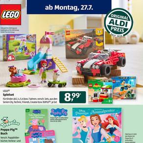 Aldi Süd LEGO Angebote 27.07.2020